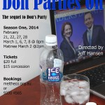 DonPartiesOn Poster